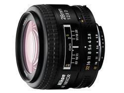 Nikon 28MM F2.8D AF Wide Angle Lens