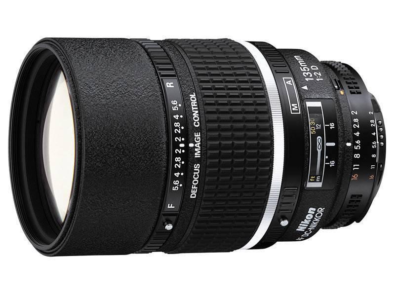 Nikon 135MM F2D AF DC Lens