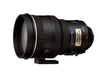 Nikon 200MM F2G AF-S VR IF-ED Lens