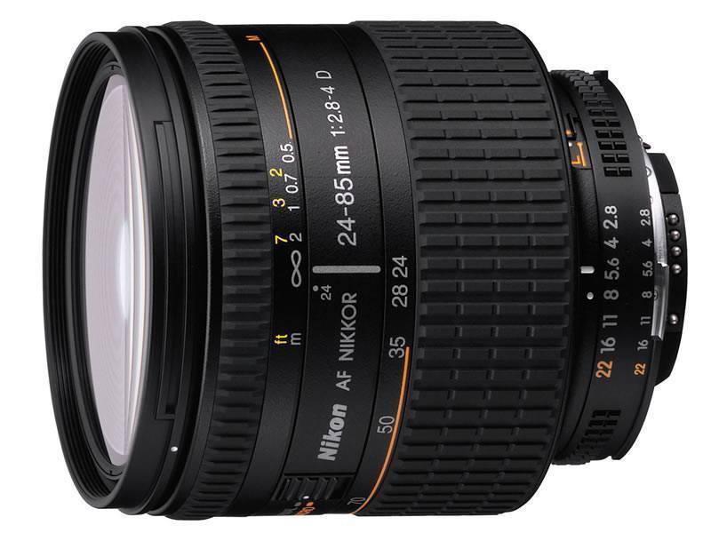 Nikon 24-85mm f/3.5-4.5G ED VR Lens