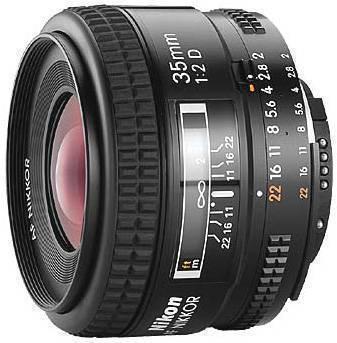 Nikon 35MM F2D AF Wide Angle Lens