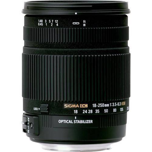 Sigma 18-250/3.5-6.3 DC Macro OS HSM Lens for Canon