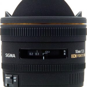 Sigma 10mm f/2.8 EX DC FISHEYE Canon