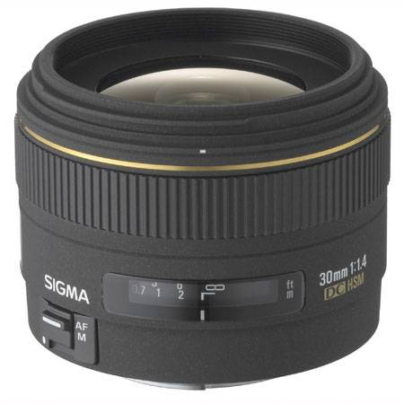 Sigma 30mm f/1.4 EX DC HSM Art Lens for Nikon