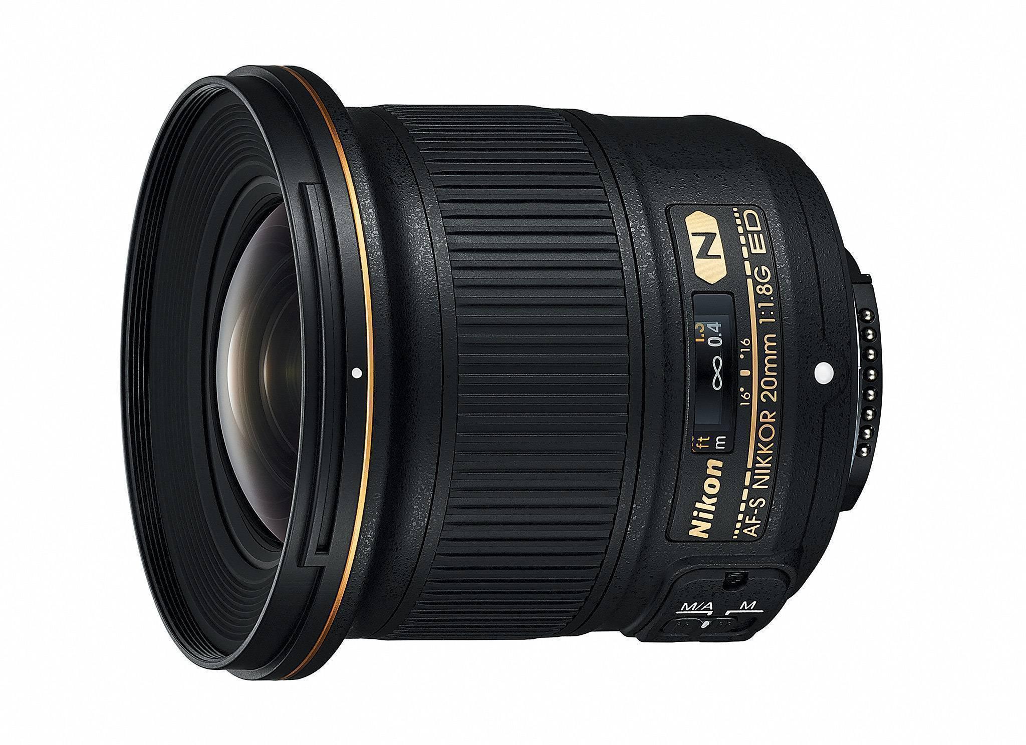 Nikon 20MM F1.8G AF-S ED LENS