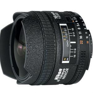 Nikon 16mm f/2.8 D AF Wide Angle Lens