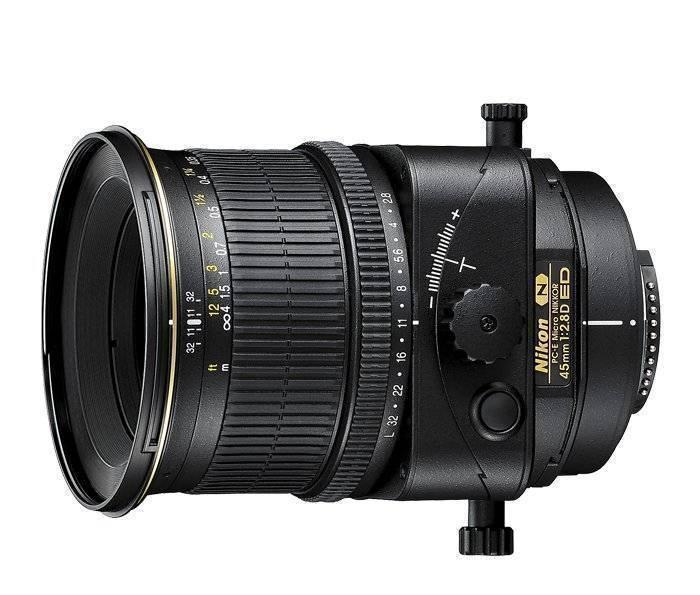 Nikon PC-E 45mm f/2.8 D ED