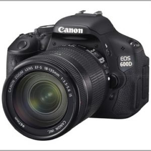 Canon EOS 600D + 18-135mm IS Lens