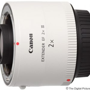 Canon EF 2.0 X III Extender Only for white coloured EF Lenses