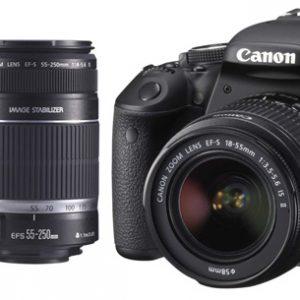 Canon EOS 600D Twin Lens bundle