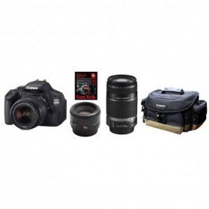 Canon EOS 600D Triple Lens Bundle