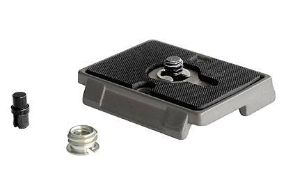 """Manfrotto NEW 200PL Rectangular Plate 1/4"""" and 3/8"""" screw"""