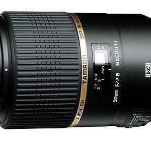 Tamron F004 SP 90mm f/2.8 Macro 1:1 Di VC USD Lens for Nikon