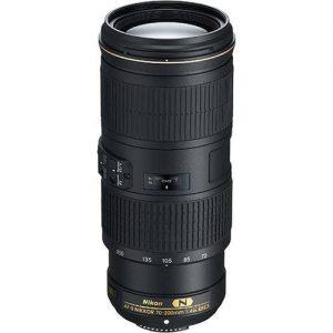 Nikon 70-200mm F4G AF-S ED VR Lens