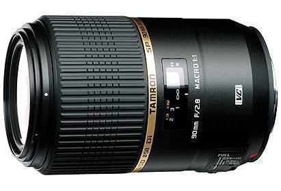 Tamron F004 SP 90mm f/2.8 Macro 1:1 Di VC USD Lens for Nikon
