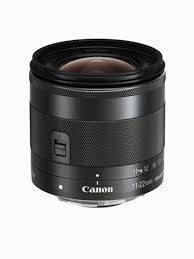 Canon EF-M 11 – 22mm f 4-5.6 IS STM