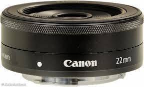 Canon EF-M 22 mm f2 STM Lens