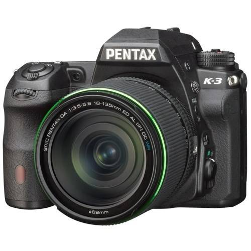 Pentax K-3 II + 18-135mm WR Lens