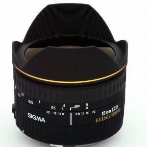 Sigma 15mm f/2.8 EX DG FISHEYE DIAGONAL – Nikon