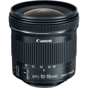 Canon EF-S 10 - 18 mm f 4.5 - 5.6 IS STM-0
