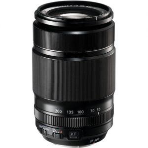 FUJINON - XF 55-200MM F3.5-F4.8 OIS TELEPHOTO ZOOM LENS IN BLACK-0