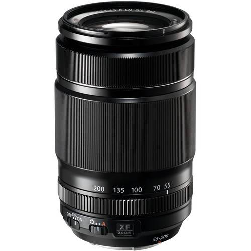 FUJINON – XF 55-200MM F3.5-F4.8 OIS TELEPHOTO ZOOM LENS IN BLACK