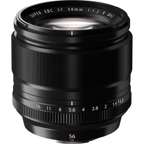 FUJINON – XF 56MM F1.2 R LENS IN BLACK
