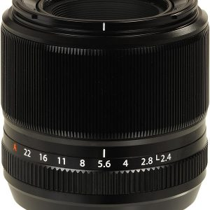 FUJINON – XF – 60MM F2  R LENS IN BLACK