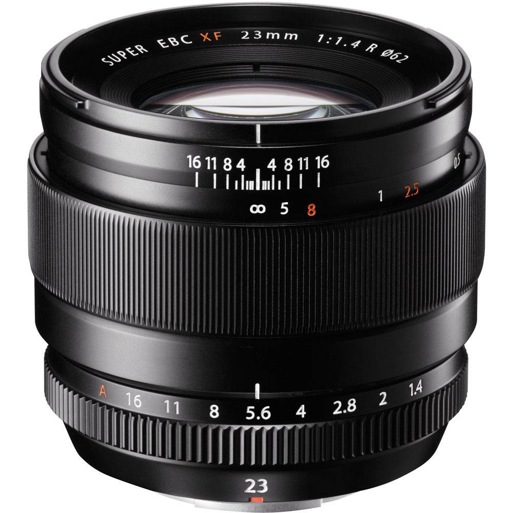 FUJINON – XF 23MM F1.4 R (NEW) LENS IN BLACK