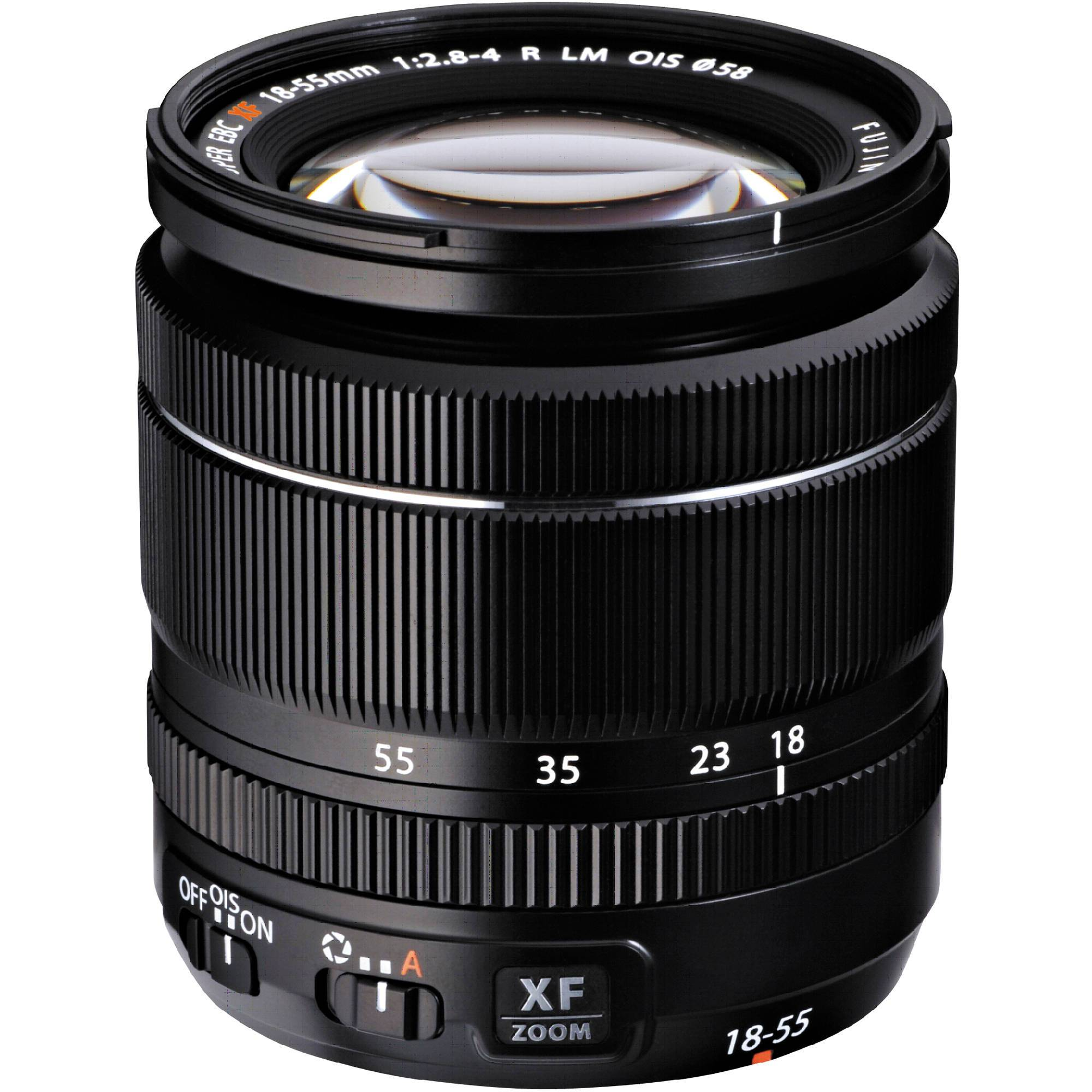FUJINON – XF 18-55MM STANDARD ZOOM F2.8-F4 OIS LENS IN BLACK