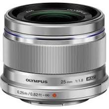 OLYMPUS – M.ZUIKO DIGITAL 17mm 1:1:8 / EW-M1718 Black and Silver