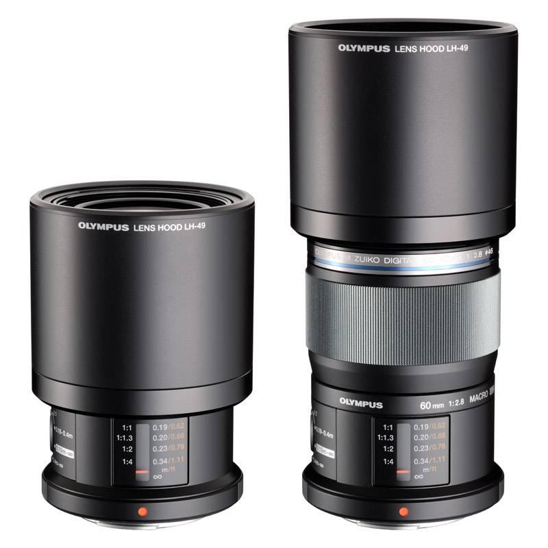 Olympus M.Zuiko Digital ED 60mm 1:2.8 Macro Lens Black Only