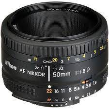 Nikon 50mm f 1.8 D AF Lens