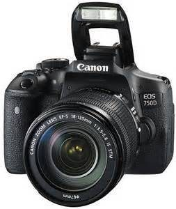 Canon EOS 750D Plus 18-55 IS STM Lens Kit WiFi + UM + ICASA (On Line Only)-0