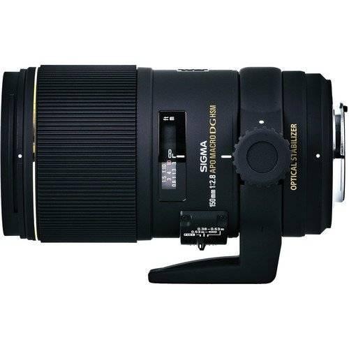 Sigma 150mm f/2.8 APO MACRO EX DG OS HSM Lens for Canon-0