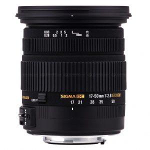 Sigma 17-50mm F2.8 EX DC OS HSM Lens for Nikon
