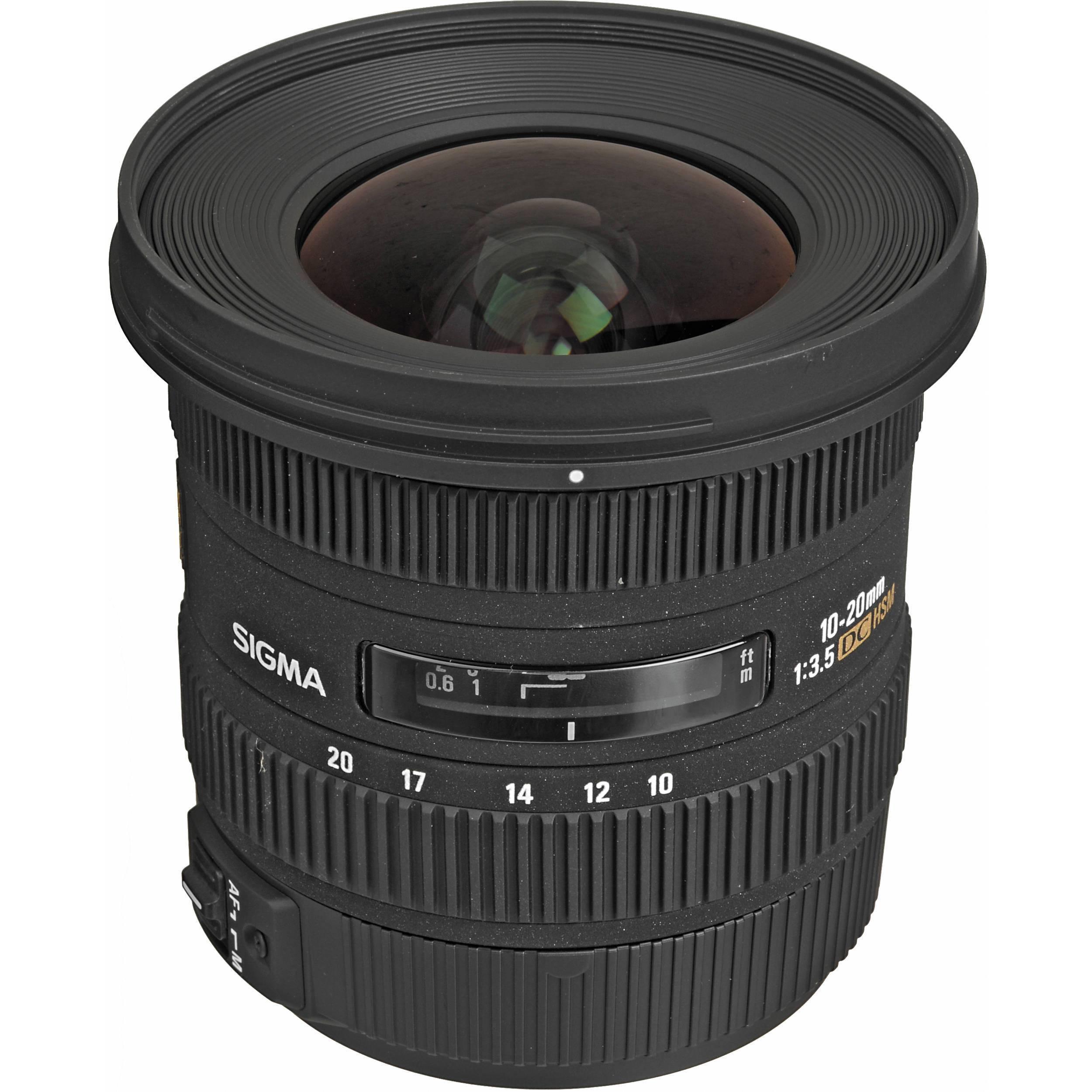 Sigma 10-20/3.5 AF EX DC HSM Lens for Nikon