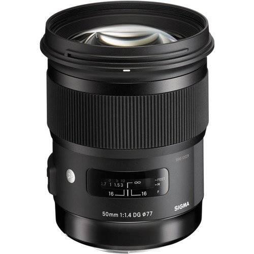 Sigma 50/1.4 DG HSM ART Lens for Sony E Mount