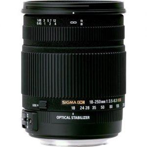 Sigma 18-250/3.5-6.3 DC Macro OS HSM