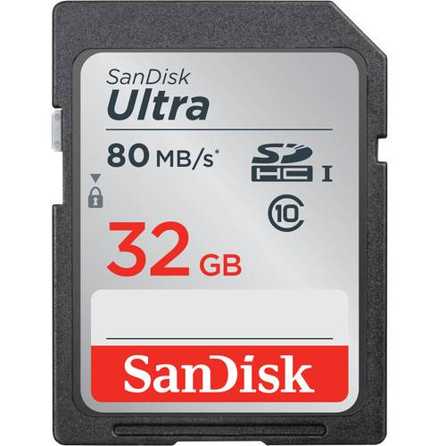 Sandisk 32GB Ultra SD Card 80MB/s MINIMUM ORDER TWO CARDS IF ORDERED ALONE-0