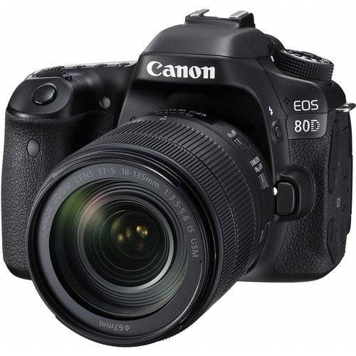 Canon EOS 80D and EF-S EF-S 18-55mm f/3.5-5.6 IS STM Lens (On Line Only)-0