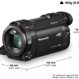 Panasonic HC-WXF995 4K ULTRA HD Video Recorder
