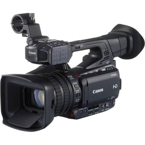 Canon XF-200 Professional Video Camera-0