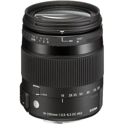 Sigma 18-200mm f/3.5-6.3 DC Macro OS HSM Contemporary Nikon