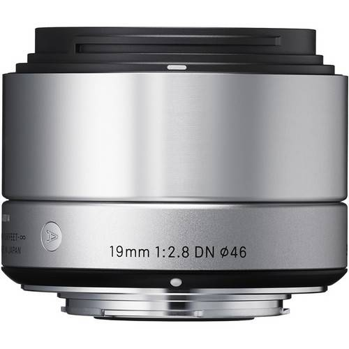 Sigma 19mm f/2.8 DN Lens for Sony E-mount Cameras (Silver)
