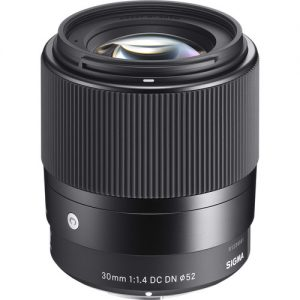 Sigma 30mm f/1.4 DC DN for Sony E-0