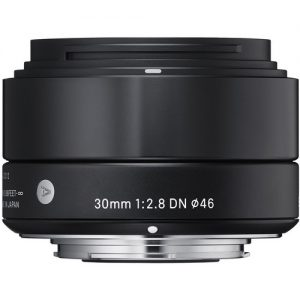 Sigma 30mm f/2.8 DN Lens for Micro Four Thirds Cameras (Black)-0