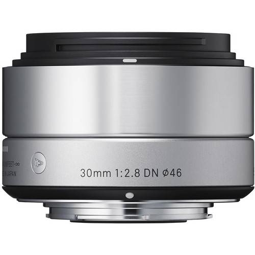 Sigma 30mm f/2.8 DN Lens for Sony E-mount Cameras (Silver) -0