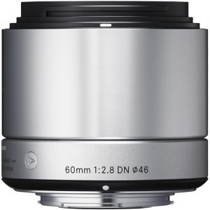 Sigma 60mm f/2.8 DN Lens for Sony E-mount Cameras (Silver) -0