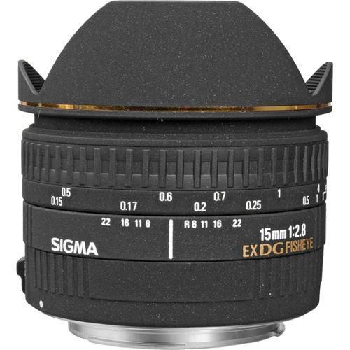 Sigma 15/2.8 DG EX Diagonal Fisheye Canon-0